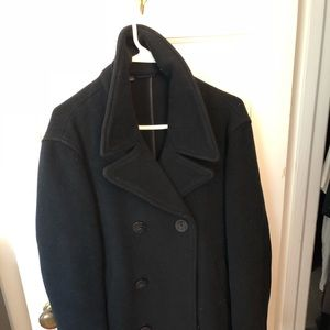 Brooks Brothers Navy Pea Coat